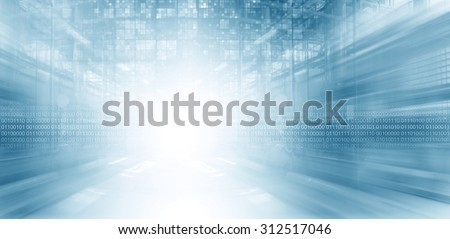 Digital Space - stock photo