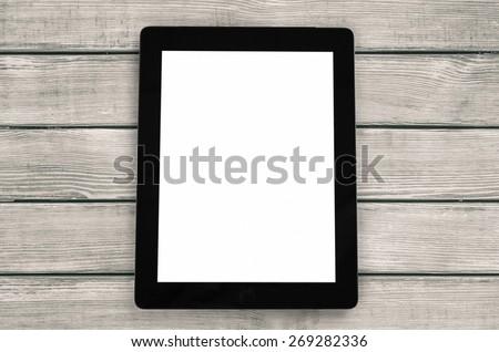 Digital Tablet. Tablet computer - stock photo