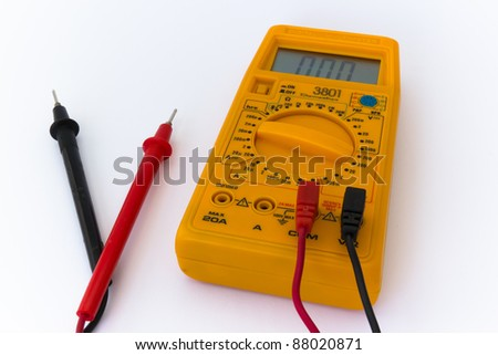 Digital Tester - stock photo