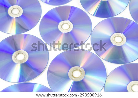 Digital Versatile Disc background - stock photo