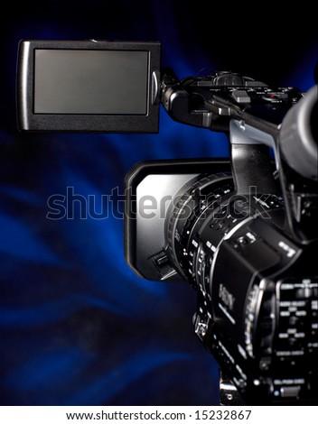 digital video camera - stock photo
