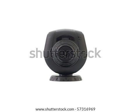 digital video web camera isolated on white