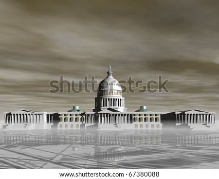 digital visualization of the capitol