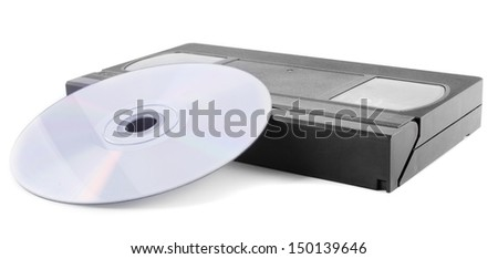 Digitize tapes - stock photo