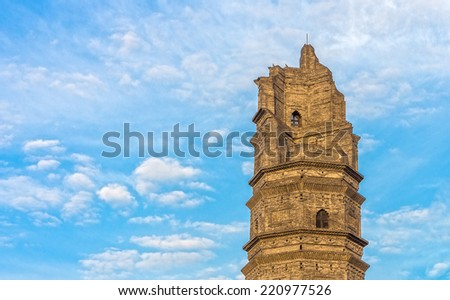 "Dignified ancient tower in Xingguo Temple was built in Northern Song Taiping Xingguo (796-983) years, commonly known as ""rejuvenating the Temple"""