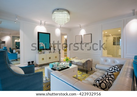 dining room with nice decoration