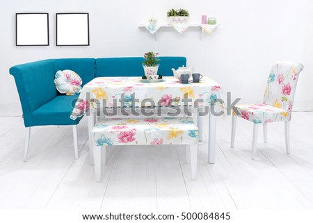 Dining Table fortable Chairs Modern Home Stock