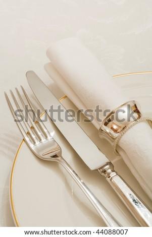 Dinner service - stock photo