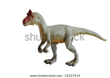 dinosaur isolated on white background