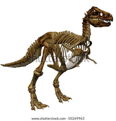 Dinosaur Tyrannosaurus Rex - stock photo