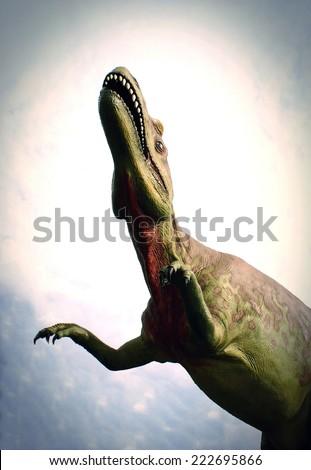 Dinosaurs - stock photo