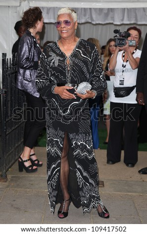 Dionne Warwick arriving for the Glamour Women Of The Year Awards 2012, at Berkeley Square, London. 29/05/2012 Picture by: Alexandra Glen / Featureflash