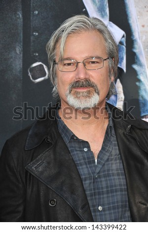"Director Gore Verbinski at the world premiere of his new movie ""The Lone Ranger"" at Disney California Adventure. June 22, 2013  Anaheim, CA"