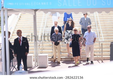 Director Woody Allen attends the 'Irrational Man' photocall during the 68th annual Cannes Film Festival on May 15, 2015 in Cannes, France. - stock photo
