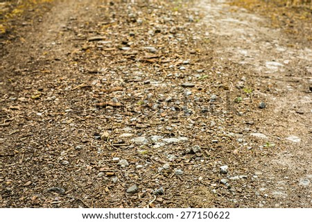 Dirt road texture background  - stock photo