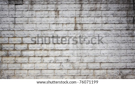 dirty brick wall, old texture