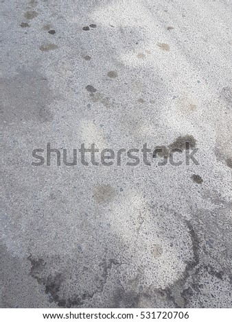 Dirty cement floor texture background space