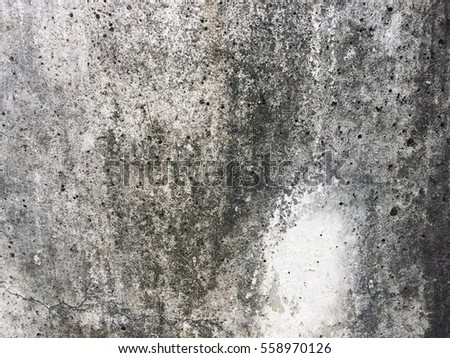 Dirty dark cement floor background grungy texture