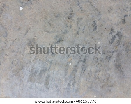 Dirty grunge gray concrete floor texture background