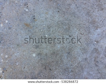 Dirty grungy rough cement floor for texture and background
