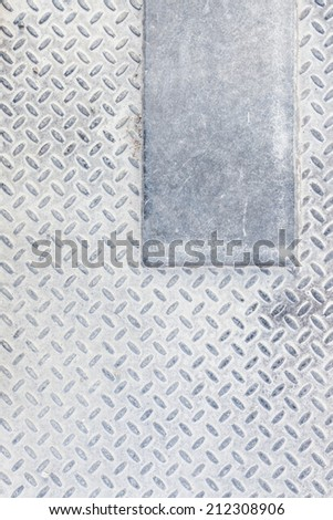 Dirty industrial grip floor texture - stock photo