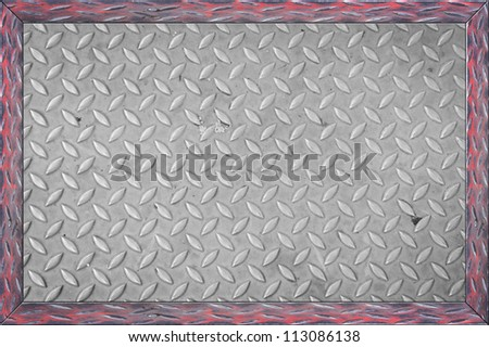 dirty metal sheet for background