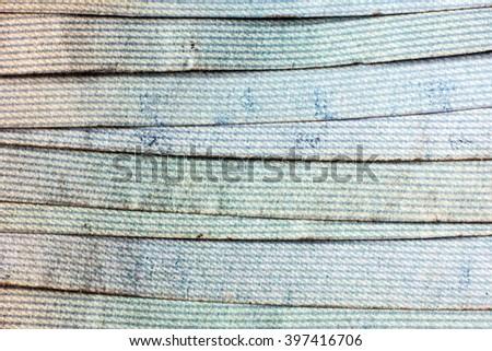 Dirty Money (Euro banknotes) - stock photo
