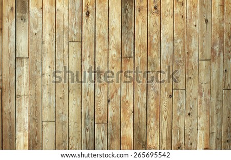 Dirty old planks of wood with knots. Great for texture background and design with wood. - stock photo