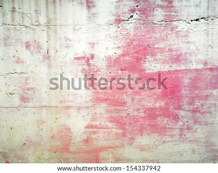 Dirty old wall - stock photo