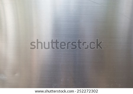 Dirty on stainless steel surface - stock photo