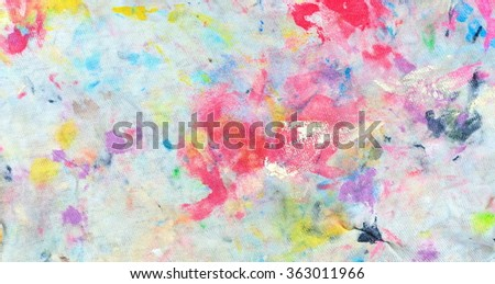 Dirty painted rag background, abstract background - stock photo