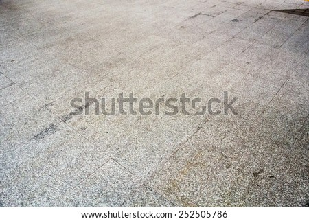 dirty pavement texture - stock photo