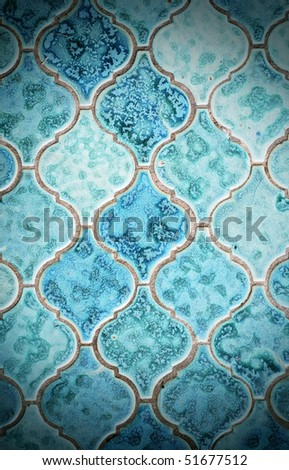 Dirty tile background - stock photo