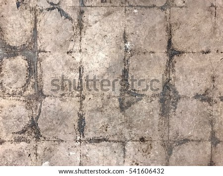 Dirty Untiled Floor