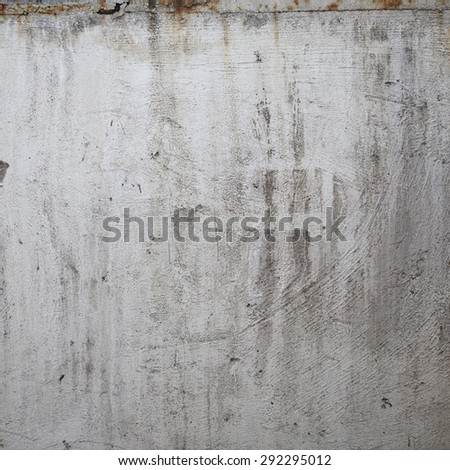 Dirty wall background. Vintage or grungy white background - stock photo