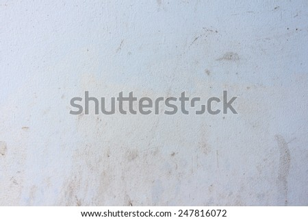 dirty white stucco wall background. - stock photo