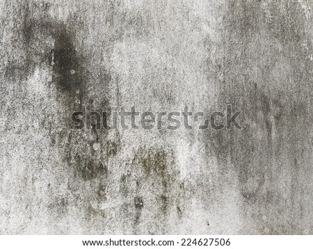 Dirty white wall - stock photo