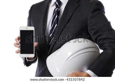 Disaster prevention business - stock photo