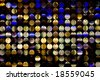 disco background with metal shiny color round - stock photo