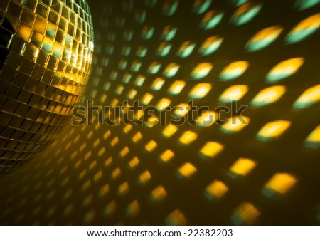 Disco ball - stock photo