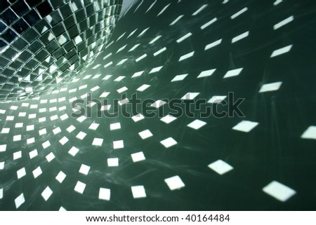 disco lights background - stock photo