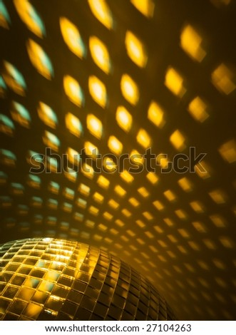 disco lights modern background - stock photo