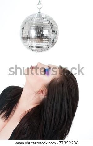 Disco lover - stock photo