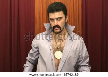 Disco Man - stock photo
