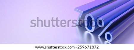 Discount collection, three dimensional rendering. - stock photo