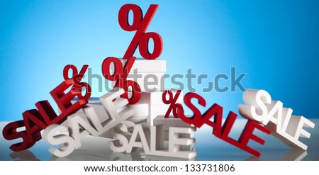 Discount Concept sign - stock photo