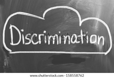 Discrimination Concept - stock photo