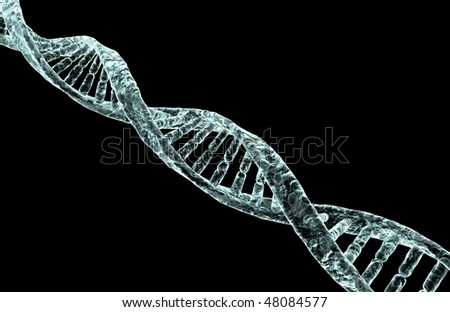 Diseased DNA strand.