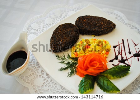 dish - stock photo