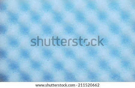 Dishwashing sponge background - stock photo